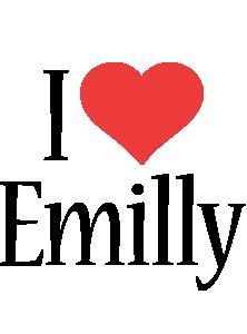 Emilly i-love logo