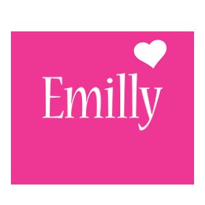 Emilly love-heart logo
