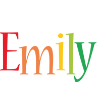 Emily birthday logo