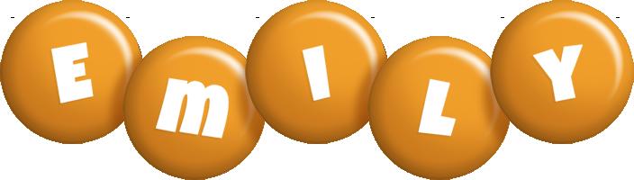 Emily candy-orange logo