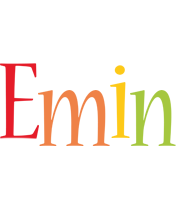 Emin birthday logo