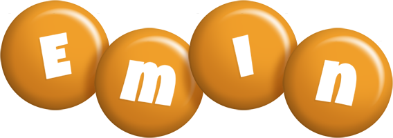 Emin candy-orange logo