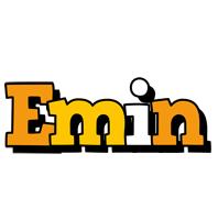 Emin cartoon logo