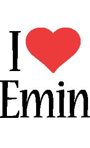 Emin i-love logo