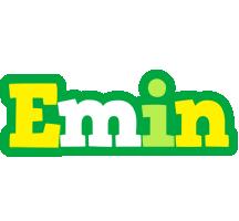 Emin soccer logo