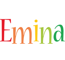 Emina birthday logo