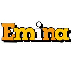 Emina cartoon logo