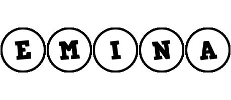 Emina handy logo