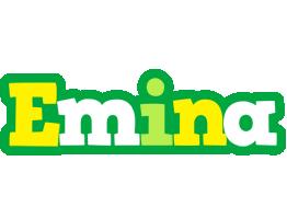Emina soccer logo