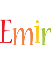 Emir birthday logo
