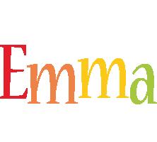 Emma birthday logo
