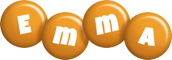 Emma candy-orange logo