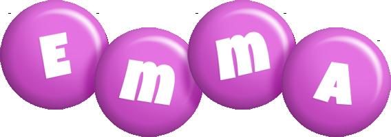 Emma candy-purple logo