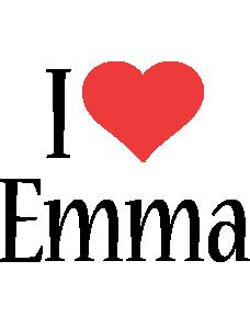Emma i-love logo