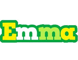 Emma soccer logo