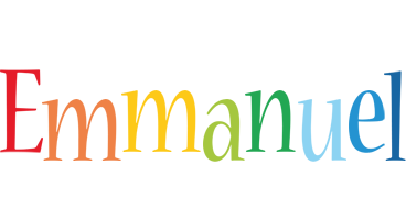 Emmanuel birthday logo