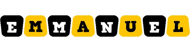 Emmanuel boots logo