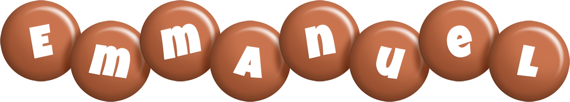 Emmanuel candy-brown logo