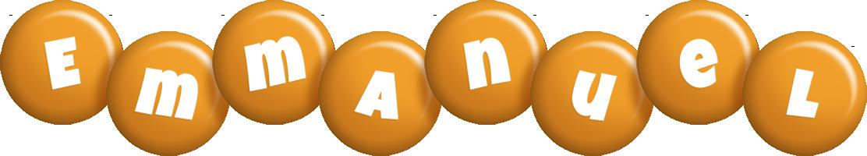 Emmanuel candy-orange logo