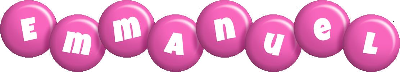 Emmanuel candy-pink logo