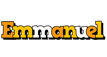 Emmanuel cartoon logo