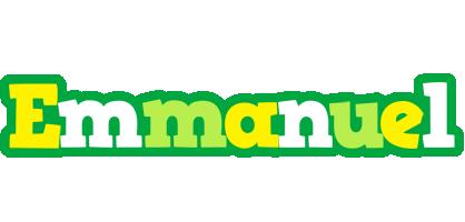 Emmanuel soccer logo