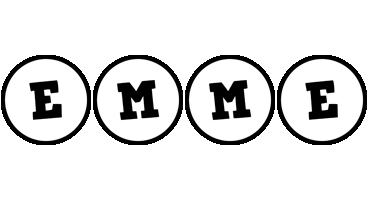 Emme handy logo