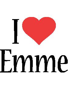 Emme i-love logo