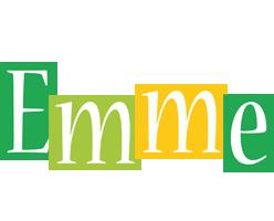 Emme lemonade logo