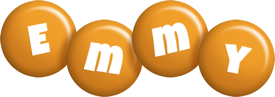 Emmy candy-orange logo