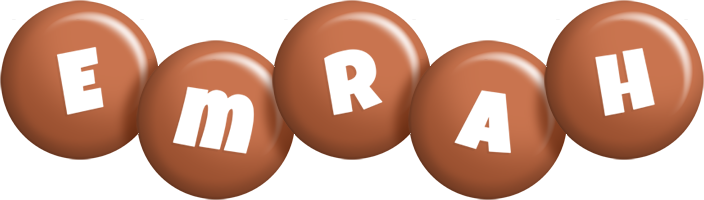 Emrah candy-brown logo