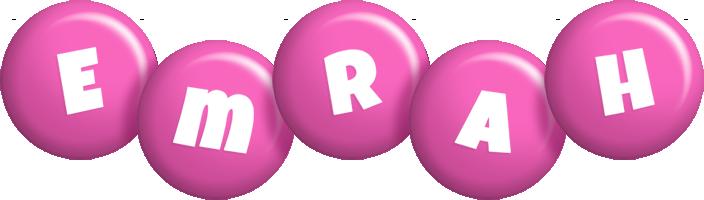 Emrah candy-pink logo