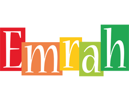Emrah colors logo