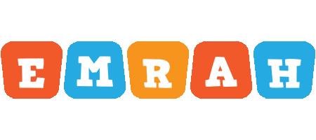 Emrah comics logo