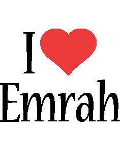 Emrah i-love logo
