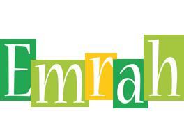 Emrah lemonade logo