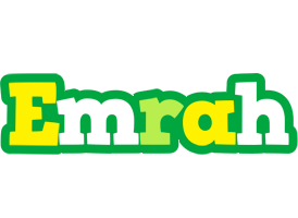 Emrah soccer logo