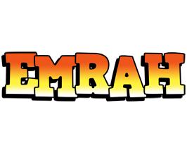 Emrah sunset logo