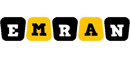 Emran boots logo