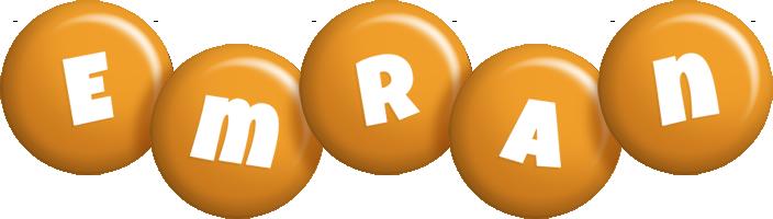 Emran candy-orange logo