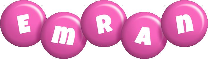 Emran candy-pink logo