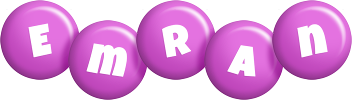 Emran candy-purple logo
