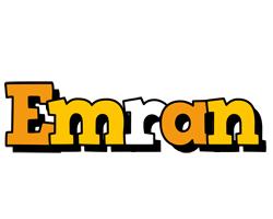 Emran cartoon logo