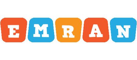Emran comics logo