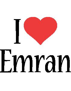 Emran i-love logo