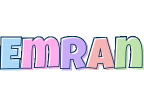 Emran pastel logo