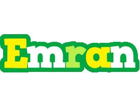 Emran soccer logo