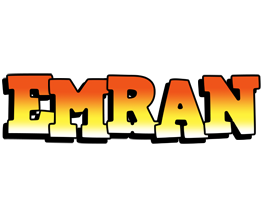 Emran sunset logo