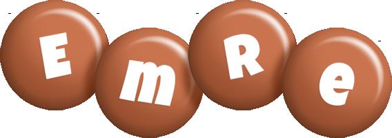 Emre candy-brown logo