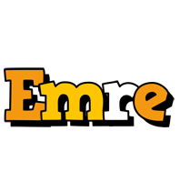 Emre cartoon logo